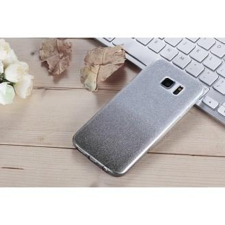 Ultra dünne weiche TPU Silikon Abdeckung Galaxy S7 mit Verlauf Grau
