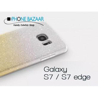 Ultra dünne weiche TPU Silikon Abdeckung Galaxy S7 Edge Verlauf