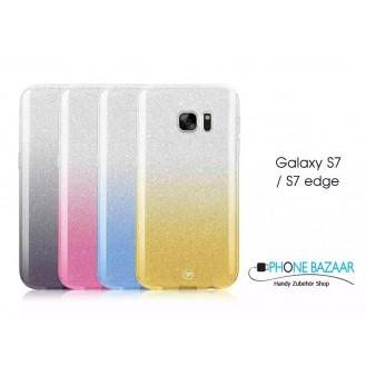 Ultra dünne weiche TPU Silikon Abdeckung Galaxy S7 Edge mit