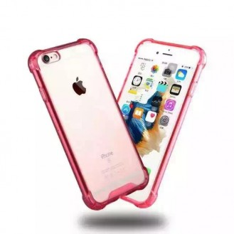 Clear shock proof Cover iPhone 6 Plus / 6s Plus Rot
