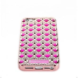 Edle 3D Hülle für das iPhone SE Pink