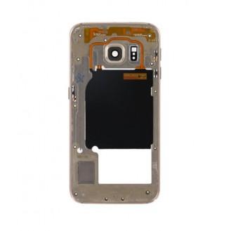 Mittelrahmen Gehäuse Frame Housing Gold Samsung Galaxy S6 Edge G925F