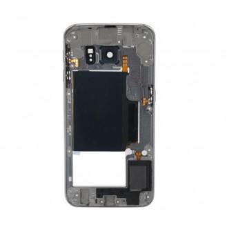 Mittelrahmen Gehäuse Frame Housing Blau Galaxy S6 Edge G925F