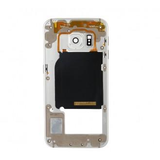 Mittelrahmen Gehäuse Frame Housing Weiss Galaxy S6 Edge G925F