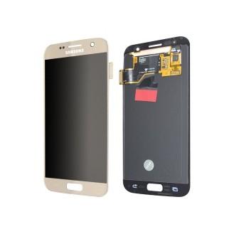 LCD Display Samsung G930F Galaxy S7 Original full set gold