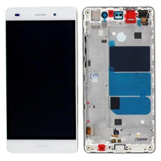 Huawei Ascend P8 Lite LCD Touch Screen Display Weiss