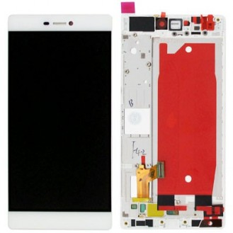 Huawei Ascend P8 LCD Touch Screen Display Weiss