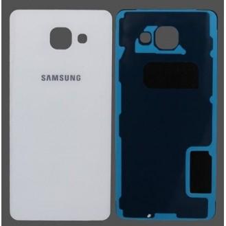 Akkudeckel Glas Weiss Galaxy A5 2016
