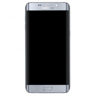 Samsung Galaxy S 6 Edge+ Oberschale & LCD Display - Silber