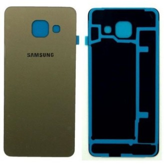 Akkudeckel Glas Gold Galaxy A3 2016