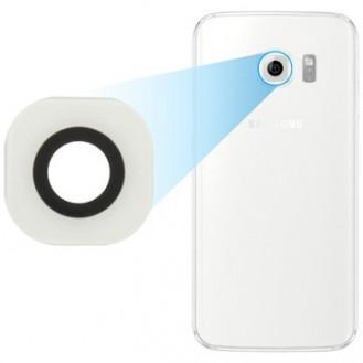 Kamera Linse für Samsung Galaxy S6 Edge - Weiss