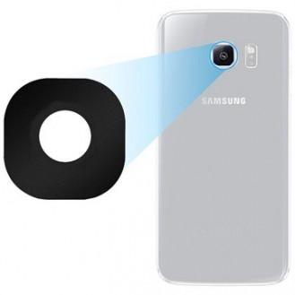 Kamera Linse für Samsung Galaxy S6 Edge - Schwarz