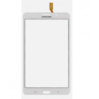 Display Glas Touchscreen Weiss Galaxy Tab 4 7""