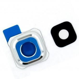 Samsung Galaxy S6 Edge Plus Kameraglas Linse Weiss