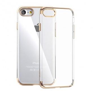 Silikon Shining Case für iPhone 7 Gold