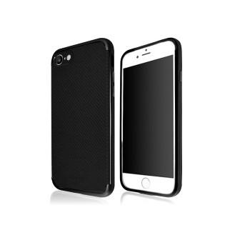 UMKU TPU Carbon Case iPhone 7 Schwarz