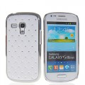 Bling Strass Glitzer Case Galaxy S3 Mini Weiss