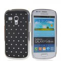Bling Strass Glitzer Case Galaxy S3 Mini Schwarz