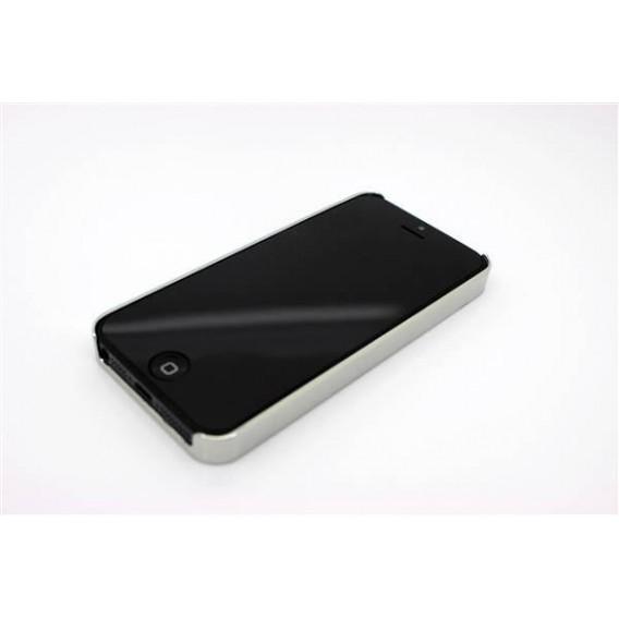 Bling Glitzer Strass Hard Case Cover für iPhone 5 / 5S / SE Lila