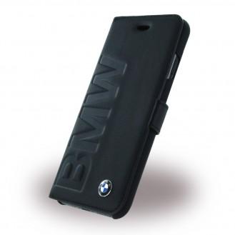 BMW - Signature Debossed Logo  Leder Book Cover iPhone 7 Plus