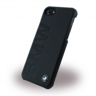 BMW Signature Debossed Logo - Leder Cover iPhone 7 Plus
