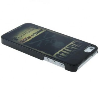 Skull Totenkopf Motiv Hard Case Cover für iPhone 5 / 5S / SE