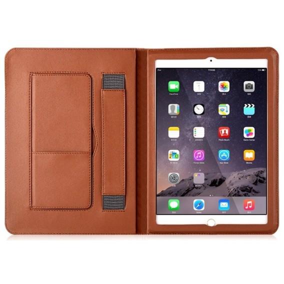 Luxus Leder Smart Case iPad Mini 1 / 2 / 3 Schwarz