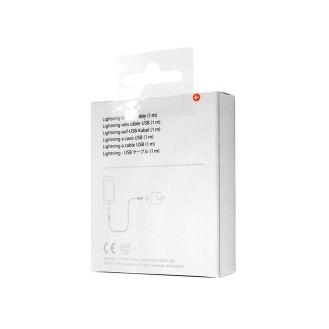 Apple MD818ZM/A Lightning auf USB Kabel 1m