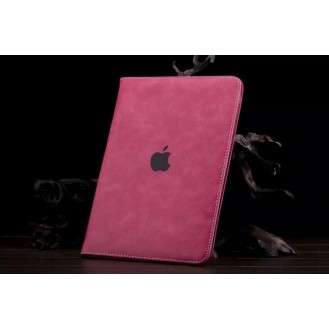 Luxus Leder Smart Case iPad Mini 1 / 2 / 3  Elegant pink