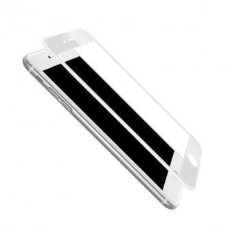 3D Full 9H Panzerglas Tempered Folie iPhone 6 Plus / 6S+ Schwarz
