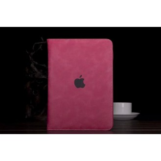 Luxus leder smart case ipad Air Pink