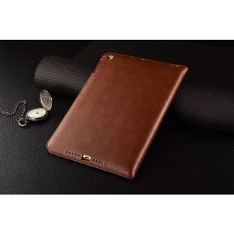 Luxus leder smart case ipad Air Mocha Braun