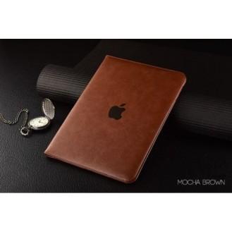 Luxus leder smart case ipad mini Schwarz