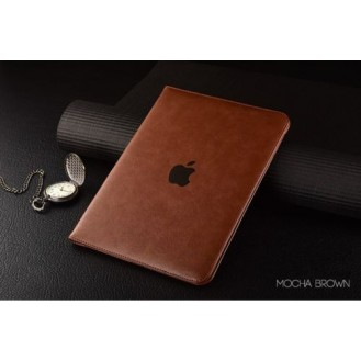 Luxus leder smart case ipad Pro 9,7 Mocha Braun