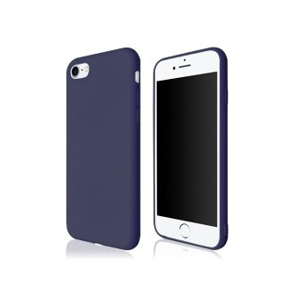 Blau Silikon Hülle Case für Apple iPhone 7