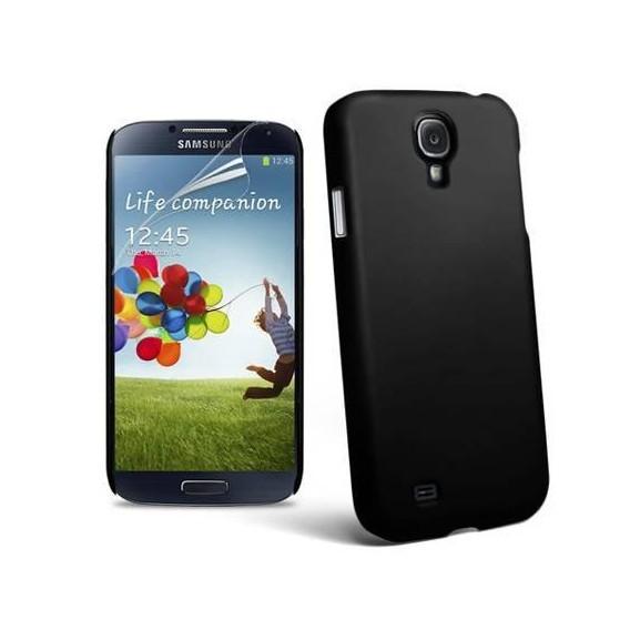 Schwarz Hard Case Hülle Samsung Galaxy S4 i9500