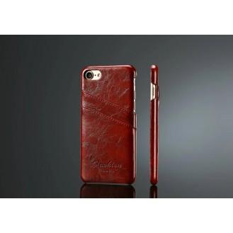 Retro Leder Hüllen Tasche iPhone Se 2020 / 7 / 8 Braun