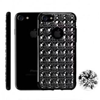 Edle Totu 3D Hülle iPhone Se 2020 / 7 / 8 Schwarz