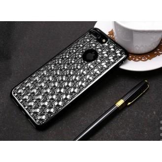 Edle Totu 3D Hülle iPhone 7 Plus Schwarz