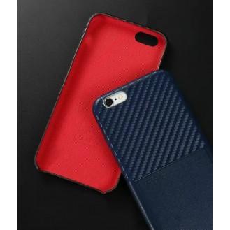 Edle Leder Hülle Tasche iPhone Se 2020 / 7 / 8 Blau