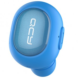 Kompaktes Bluetooth Headset Blau