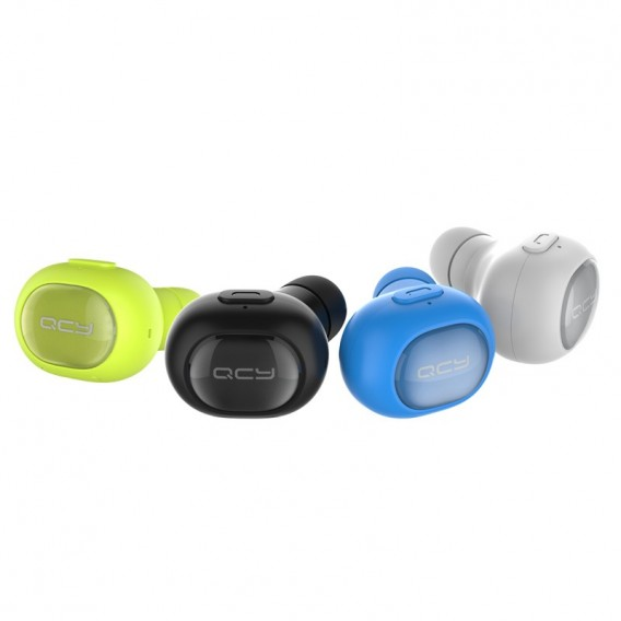 Kompaktes Bluetooth Headset Grün