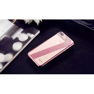 Edle Bling Hülle für iPhone 7 Plus Rosa