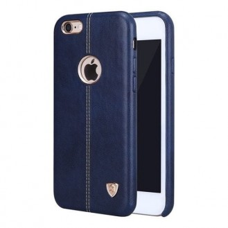 Nillkin Englon Leder Case iPhone 7 Plus Blau