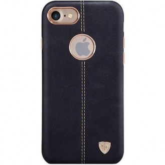 Nillkin Englon Leder Case iPhone 7 Plus Schwarz
