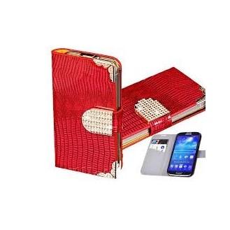 Galaxy S4 Bling Book Etui Case
