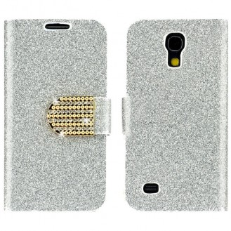 Galaxy S4 Bling Book Etui Case