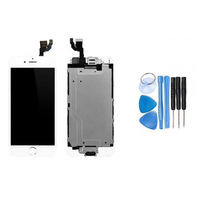 iPhone 6 LCD Vormontiert Display Schwarz