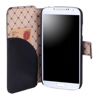 Bouletta WalletCase Book Leder Galaxy S4