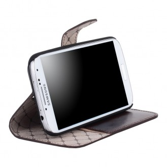 Bouletta WalletCase Book Leder Galaxy S4